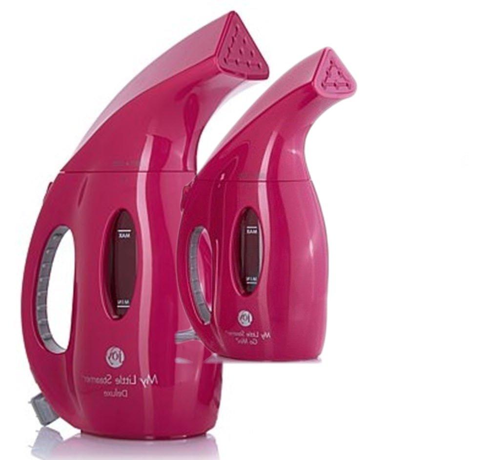 JOY 900 Watt Supreme Steam My Little Steamer & Go Mini Set Fuchsia Pink by Joy Mangano (Image #5)