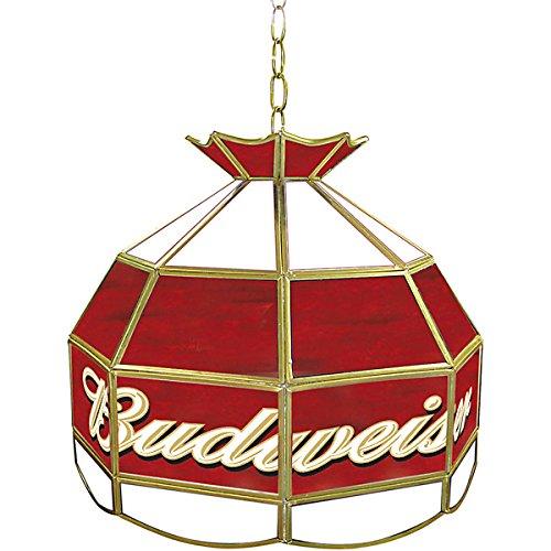 "UPC 844296019861, Budweiser Tiffany Gameroom Lamp, 16"""