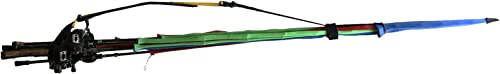 Cal Coast Fishing Rod Mule – Rod Transport – Portable Pole Bag- Rod Carrier