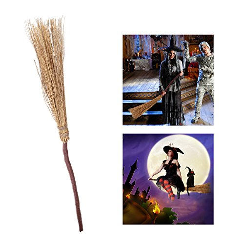 [PBPBOX Halloween Witch Broom 42