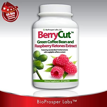 Amazon Com Berrycut 700mg Pure Raspberry Ketones With Green Coffee Bean Extract Fat Burner 60 Capsules Health Personal Care