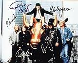 AC/DC Group Autographed Signed 8 X 10 Reprint Photo - Mint Condition