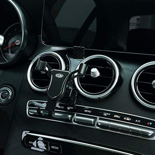High Flying Handyhalterung Auto Lüftung Kfz Halterung Kompatibel Für C Klasse Limousine W205 T Modell S205 Coupé C205 Cabriolet A205 Bj 2019 2020 Schwarz Auto