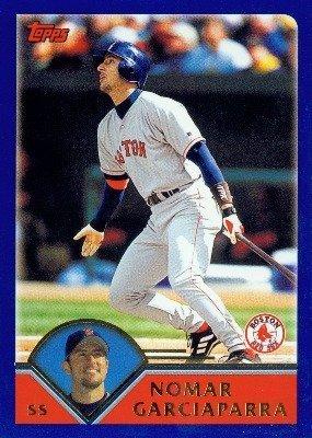 2003 Topps # 250 Nomar Garciaparra Boston Red Sox - Baseball (Nomar Garciaparra Red Sox)