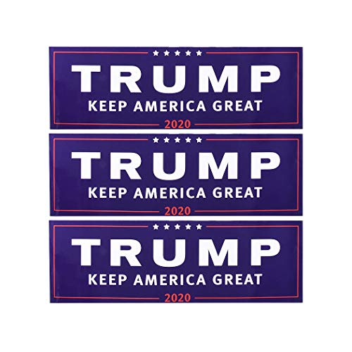 Raylans Donald Trump for President 2020 Bumper Body Car Sticker Keep Make America Great Car Decor(23x7.6cm)