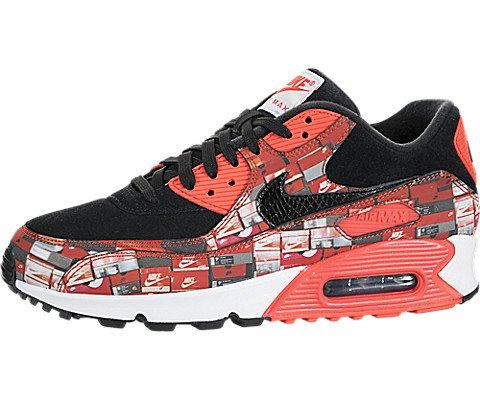 Nike Men's Air Max 90 PRNT Running Shoe (10.5)