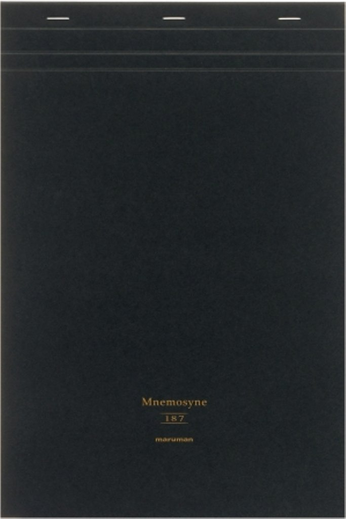 Maruman Mnemosyne Project Notepad - A4 (8.3'' X 11.7'') - 5 mm X 5 mm Graph - 70 Sheets (japan import)