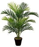 Meilleur artificielle 90cm 0,9m Parlour palmier Tropical Intérieur/extérieur véranda Bureau Jardin Plante