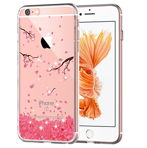 Qissy Iphone6s Case Hd Cats Flower Love Butterfly Girl Clear Design