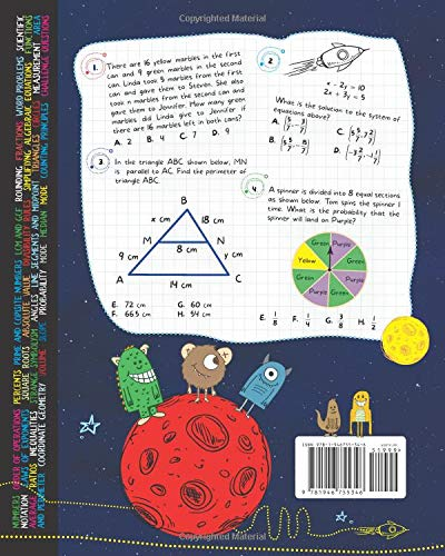Add Product to ListProduct Added Every Day Math Practice: 1000+ Questions  You Need to Kill in Middle School   Math Workbook   Middle School Study