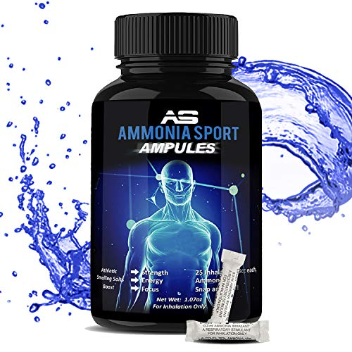 AmmoniaSport Athletic Smelling Salts - Ampules
