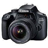 Canon EOS 4000D DSLR Camera w/Canon EF-S 18-55mm