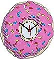 Relógio De Parede Beek Donut Beek Geek's Stuff Rosa