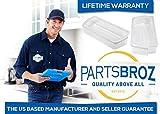 W10321304 Door Shelf Bin by PartsBroz - Compatible