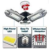 LED Garage Lights, 60W Adjustable Trilights