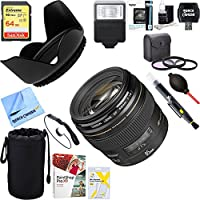 Canon (2519A003) EF 85mm f/1.8 USM Medium Telephoto Lens for Canon SLR Cameras 64GB Ultimate Filter & Flash Photography Bundle