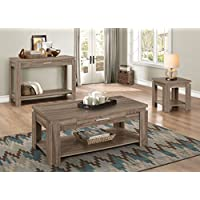 ACME Furniture 83286 Xanti End Table, Dark Taupe