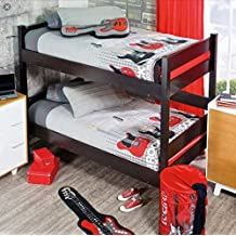 Kids Teens Collection Rock-Guitar Bunkbed 1- Piece Twin