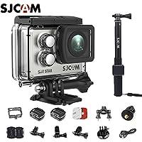 SJCAM SJ7 Star Kit SJ7 Camera with Accessories, SJCAM Waterproof Control Real 4K Action Camera Wifi Waterproof Underwater Camera Ambarella Chipset 30FPS/Sony Sensor 12MP Gyro Stabilization-Silver