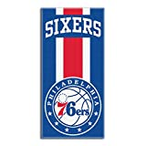 "Officially Licensed Northwest NBA Philadelphia 76ers Beach Towel, 30"" x 60"""