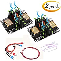 Heat Bed Power Module, Doris Direct 2-Pack Add-on Hot Bed Mosfet- Up to 30A MOS Tube High Current Load Module for 3D Printer Hot Bed/Hot End