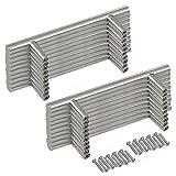 20PCS 12mm Diameter,20cm Long Stainless Steel T Bar Kitchen Door Handles Furniture Cupboard Drawer