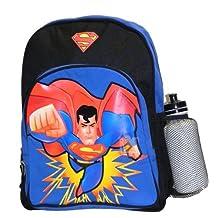 Lunch Bag - DC Comics - Superman w/Water Bottle New 004813