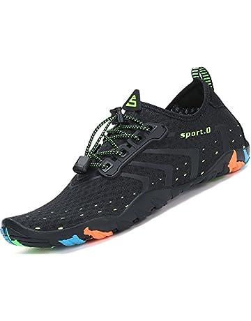 SAGUARO Skin Shoes Descalzo acuático Aqua Calcetines para de Nadada de la  Playa de la Resaca 4401fda754c