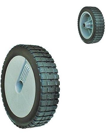 8 Inch 22 cm diámetro rueda de goma para Weeder cortador de hierba Cortacésped con ruedas