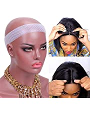 Wig Grip Band Non Slip Transparent Silicone Wig Fix Silicone Wig Grip Natural Grip Headbands for Women Comfort Elastic Wig Grip Cap for Lace Wigs to Hold Wigs Frontal Yoga and Sports