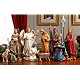 Christmas Nativity Set - Full 14 inch Real Life Nativity Set