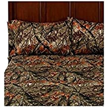 Mainstays Camouflage Soft Microfiber Full Sheet Set 844178026871