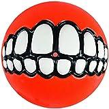 "ROGZ Grinz Dog Treat Ball, Small 2"", Colors Vary"