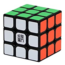 Oostifun YONGJUN YJ YULONG 3x3x3 Cube YuLong Puzzle Cube Toy Stickerless (Pink or Red Colours may vary)