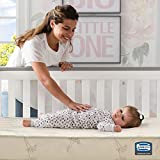 Simmons Kids SlumberTime Naturally Foam Crib and