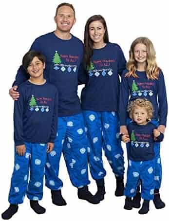 Mad Dog Concepts Matching Set Family Christmas Holiday Pajamas + Slipper Socks