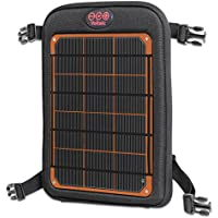 Voltaic Systems - Fuse 6 Watt USB Solar Charger with Backup Battery Pack - Orange | Powers Phones, Tablets, DSLR cameras, & More | Charges Your Phone as Fast as at Home | Portable Powered Panel
