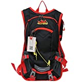 Yukon Terrain Hydration Backpack with Rain Cover &Water Bladder Pouch –Waterproof, Lightweight, Tear Resistant –for Biking, Climbing, Traveling, Hunting, Sports, Running, Fishing, Hiking & More