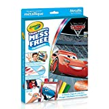 Crayola Disney Cars 3 Color Wonder Kit, Metallic, Mess Free Colouring, Washable, No Mess, for Girls and Boys, Gift for Boys and Girls, Kids, Ages 3, 4, 5,6 and Up, Holiday Gifting, , Stocking Stuffers, Arts and Crafts