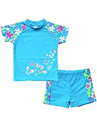 Toddlers & Big Girls Swimsuit Two-Piece Tankini UPF 50+...