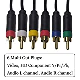Bealuffe Component AV Cable for PS2 / PS3 / PS3