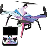 MightySkins Protective Vinyl Skin Decal for 3DR Solo Drone Quadcopter wrap cover sticker skins Rainbow Zoom