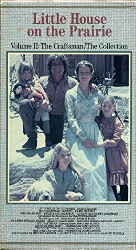 Little House on the Prairie VHS Tape Volume II: The Craftsman/The Collection