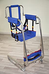 2018 NEW Easy Body Lift - Multifunctional Manual Patient Disabled Transfer Lift Chair - Patient Transfer to Bathroom, Wheelchair, Bed, Car - Weight Cap 300 lbs by Buvan Corp, Inc