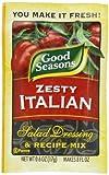 italian salad dressing mix - Good Seasons Salad Dressing & Recipe Mix, Zesty Italian, 0.6 Ounce