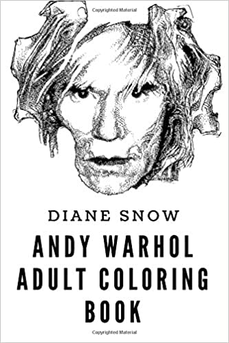 Amazon.com: Andy Warhol Adult Coloring Book: Pop Art Mastermind and ...