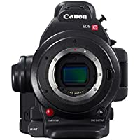 Canon EOS C100 Mark II Cinema EOS Camera with Dual Pixel CMOS AF (Body Only) (International Model) No Warranty