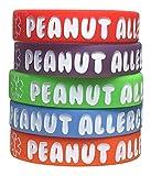 Kid's Peanut Allergy Silicone Medical Alert