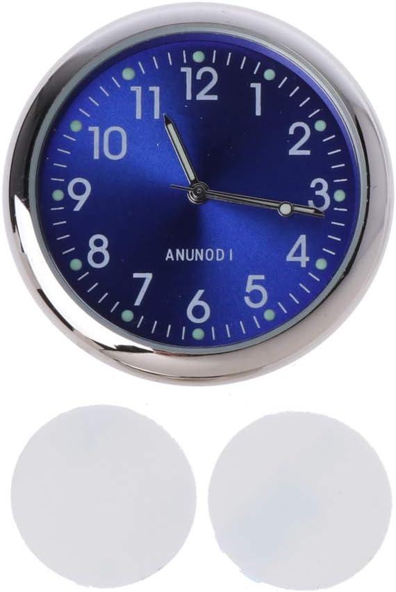 Sidougeri Horloge de voiture universelle autocollante /électronique tableau de bord d/écoration pour SUV voiture