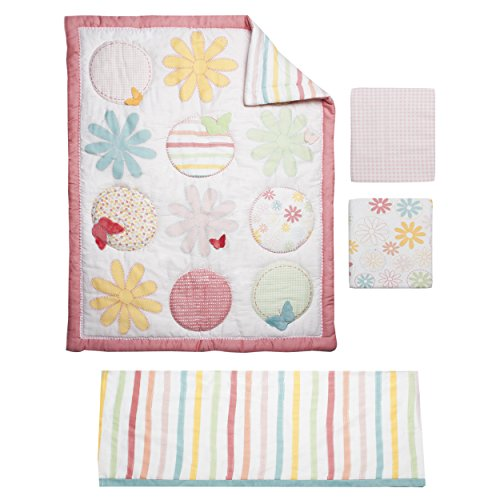 Kidsline Fanciful Floral Crib (Kidsline Crib Bedding Sets)